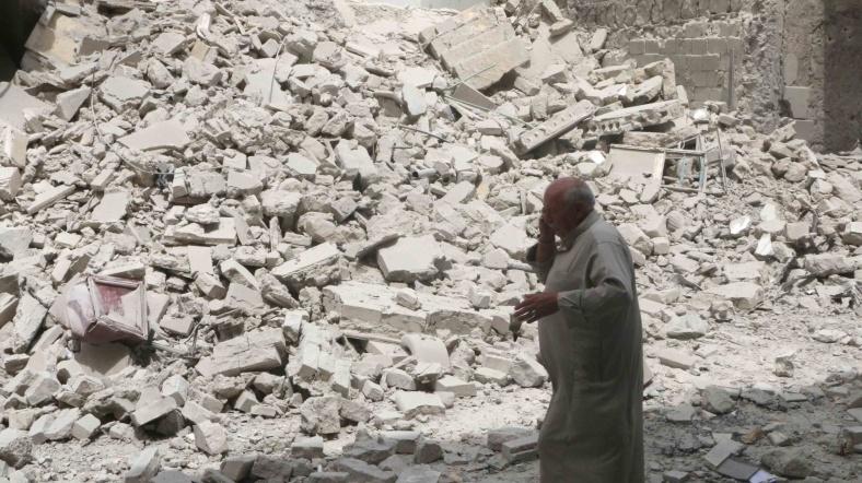 Halep'te ateşkes yürürlükte