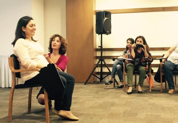 Hamile kadınlara stres semineri