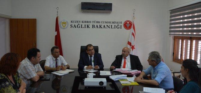 """Sucuoğlu, """"sendikalarla birlikte olumlu projelere imza atacağız"""""""