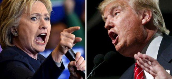 Clinton Trump'a karşı: Esas yarış şimdi başlıyor