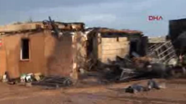 Büyük facia: Baba ve altı oğlu yanarak öldü