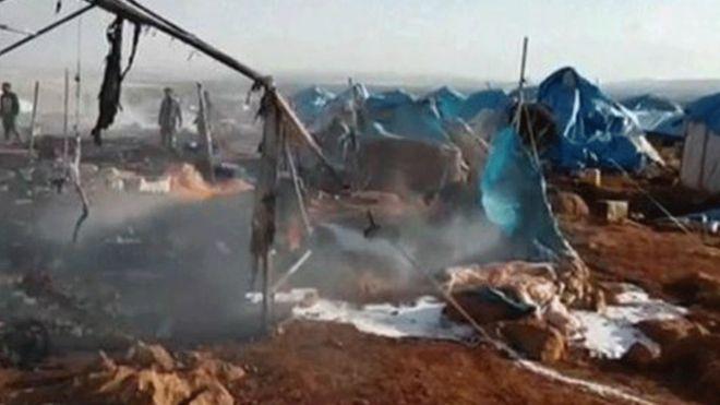 BM'den flaş karar: Suriye'de mülteci kampına saldırı savaş suçu olabilir
