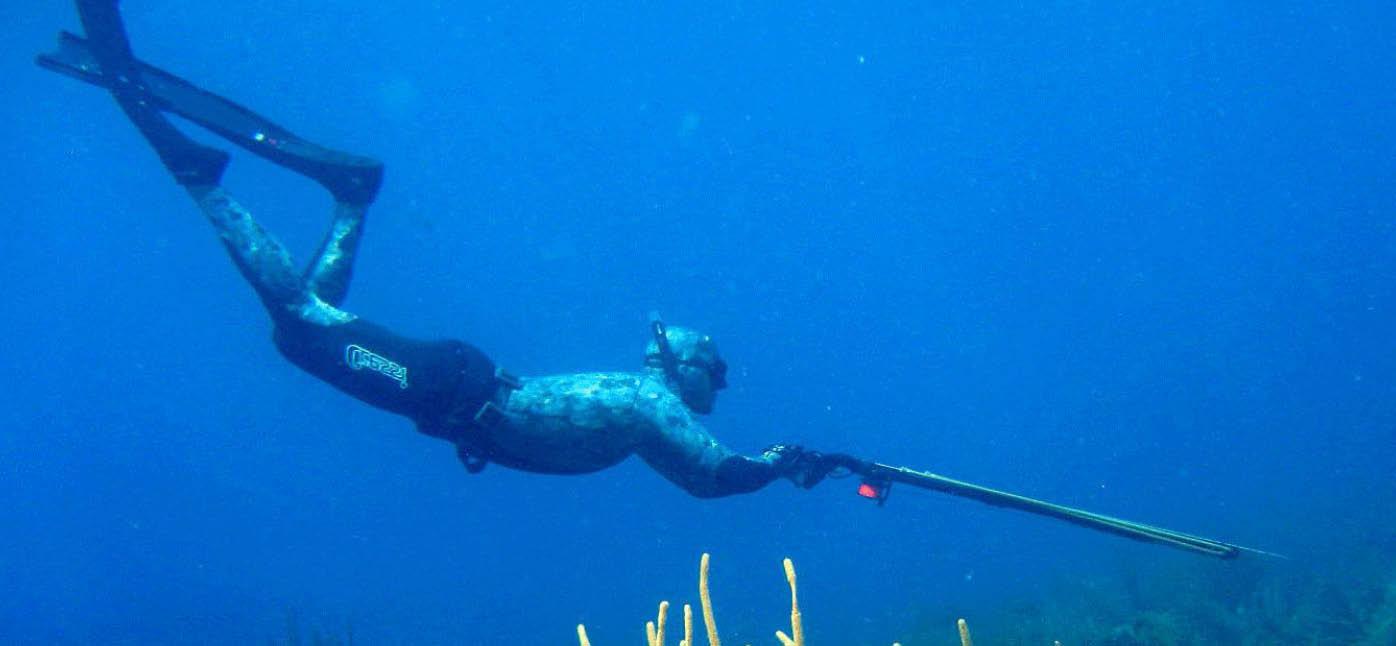 Zıpkınla balıkçılığa sertifikalı eğitim...