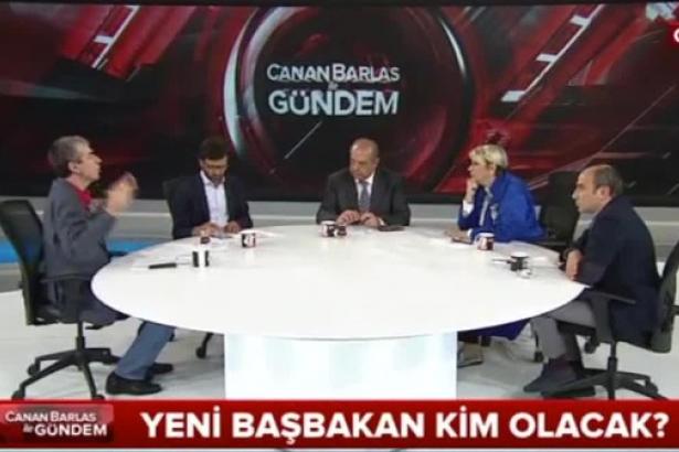Yandaş kanalda Davutoğlu'nu yerden yere vurdular