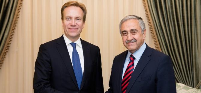Akıncı, Norveç Dışişleri Bakanı'nı kabul etti