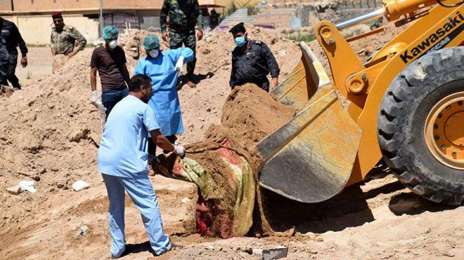 BM Irak'ta bugüne kadar IŞİD'e ait 50'den fazla toplu mezar buldu