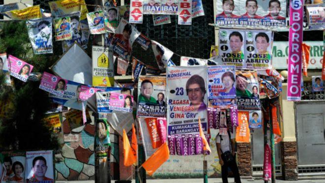 Filipinler'de seçim güvenliği için 100 bin polis görevde