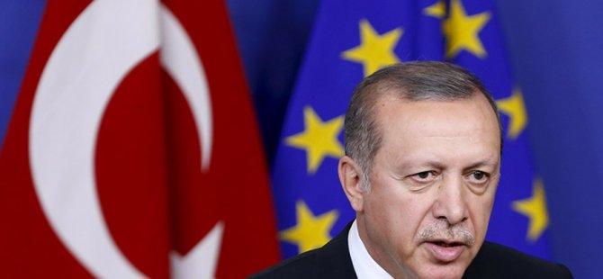 Erdoğan'dan AB ile ilgili geri adım