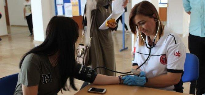 LAÜ'de Kan Bağışı Kampanyası yapıldı