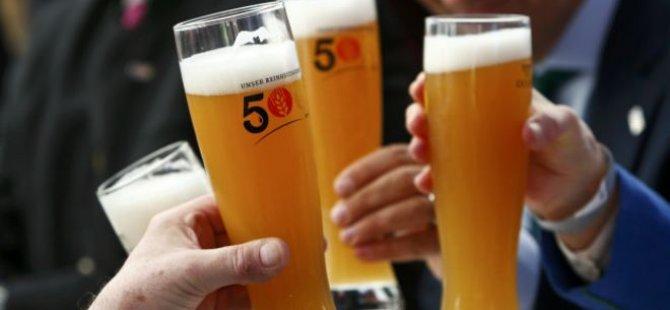 Almanya'da 'bira karteline' rekor ceza!