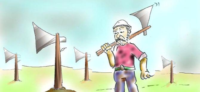 Kıbrıslı Türk Karikatürcülerden, görülmeye değer çizimler...
