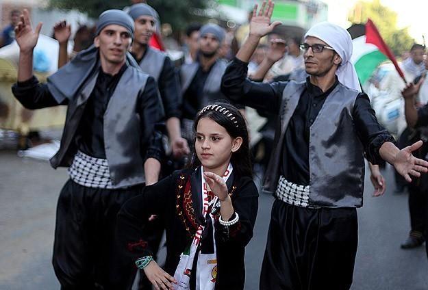 Gazze'de ''Filistin'in Renkleri Karnavalı''