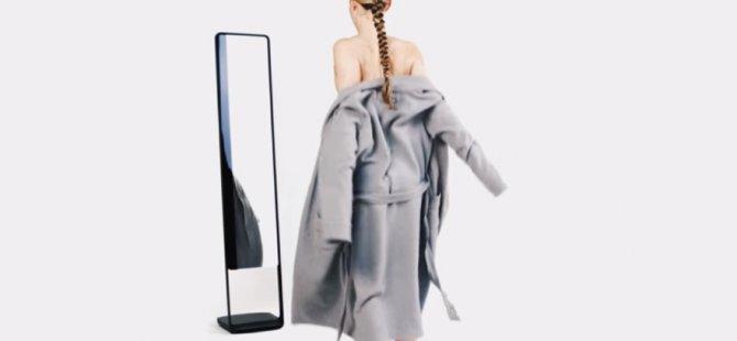Çıplak 3D adlı ayna vücudunuzun yağ ve kas oranını gösteriyor!