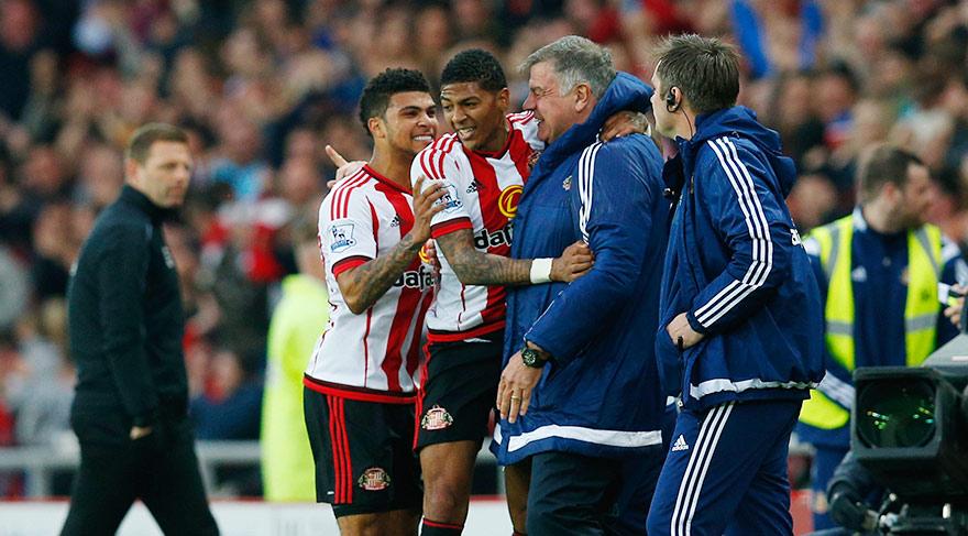 Sunderland kazandı iki takım küme düştü!