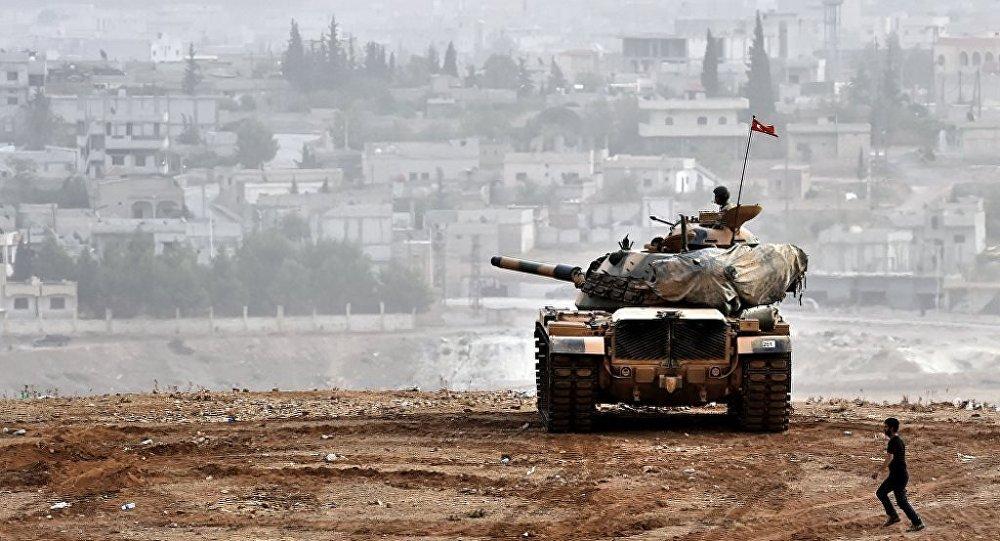 IŞİD hem karadan hem havadan vuruldu