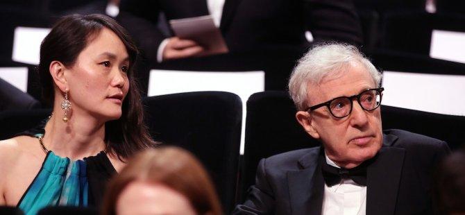 Cannes Film Festivali açılışında Woody Allen'a tecavüz göndermesi