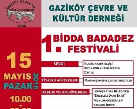 1. Bidda Badadez Festivali başlıyor!