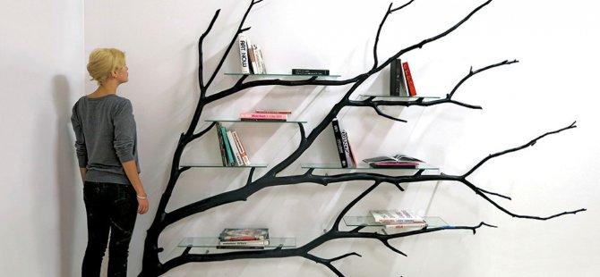 Ağaç dallarından mobilya olur mu?