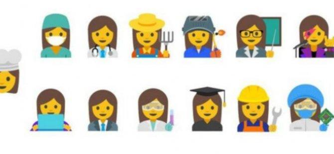 Google çalışan kadınlar için emoji tasarladı