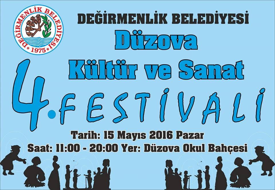 Düzova 4. Kültür ve Sanat Festivali bu pazar başlıyor