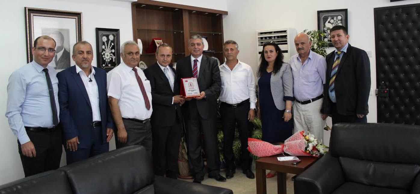 Karadeniz Kültür Derneği İçişleri Bakanı Kutlu Evren'i ziyaret etti