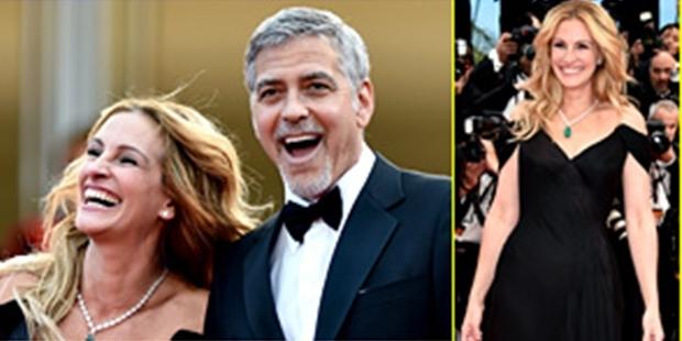 George Clooney ve Julia Roberts 15 sene sonra Cannes'da buluştu