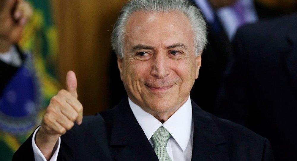 Brezilya'nın yeni lideri Temer: Bize güvenin