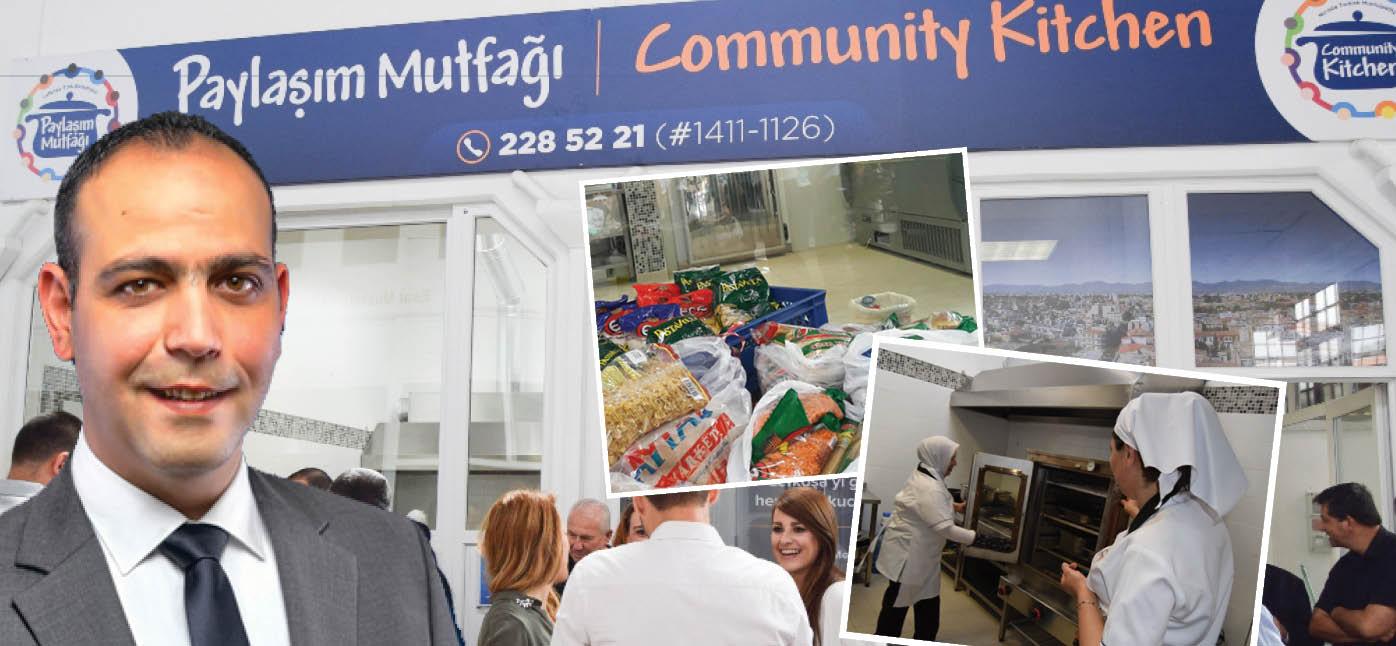 """Lefkoşa'da bir sosyal belediyecilik devrimi: """"Paylaşım Mutfağı"""" hizmette!"""