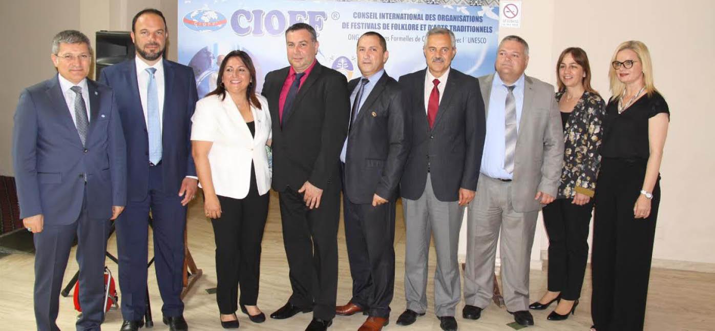 İskele Belediyesi, CIOFF üyelerini KKTC'de buluşturdu