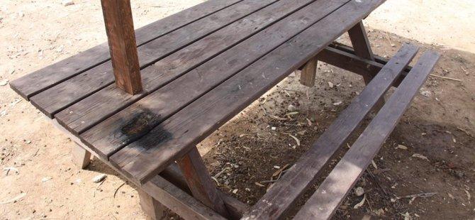 İskele Piknik alanına hasar verildi!