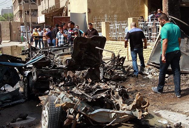 Irak'ta bombalı saldırı: 24 ölü
