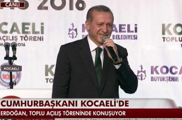 Erdoğan: Başkanlık sistemini kuzu kuzu kabul edersin...