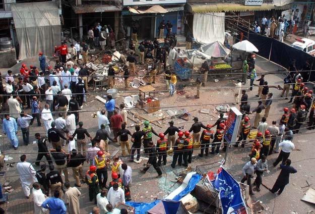 İdlip'te pazar yerinde patlama