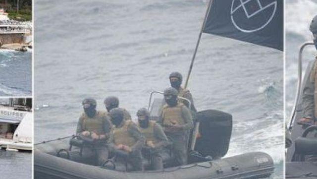 Cannes'da 'siyah bayraklı terörist' paniği!