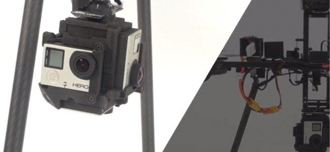 360 derece drone dikkat çekiyor
