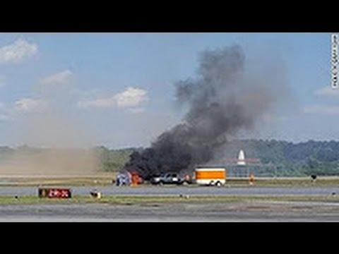 İşte o pilotun yere çakılma anı! Gözler önünde hayatını kaybetti!