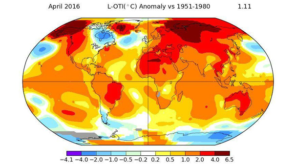 Tarihin en sıcak Nisan ayı geride kaldı