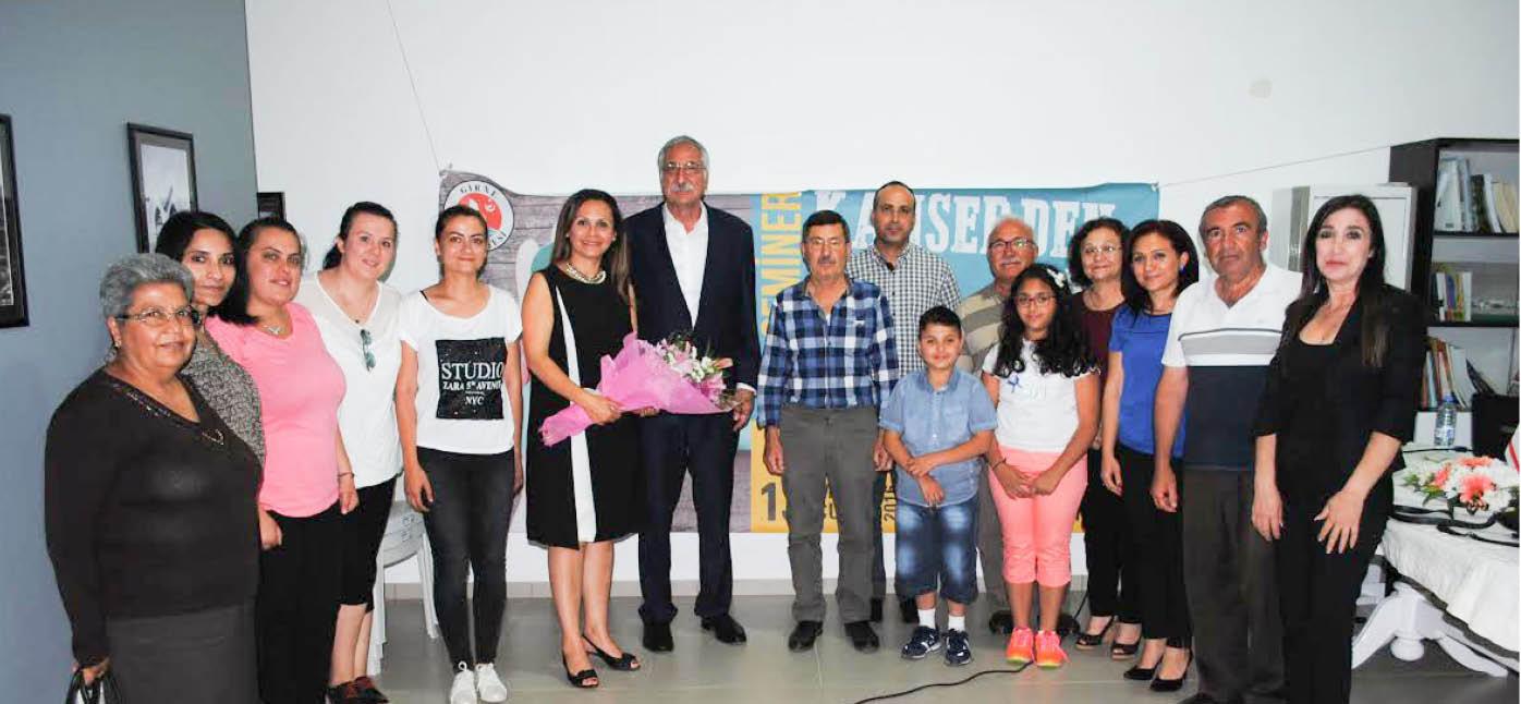 Girne Belediyesi kanser konusulu seminer düzenledi