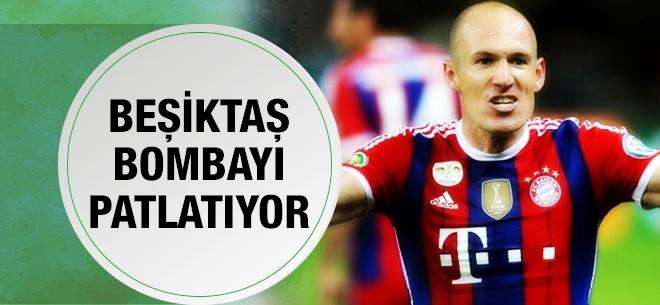 Beşiktaş'tan Arjen Robben bombası