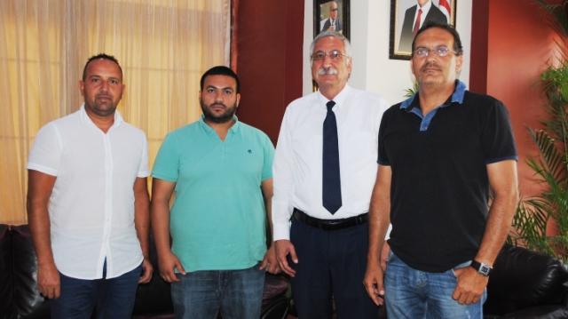 Girne Takımlarından Güngördü'ye ziyaret