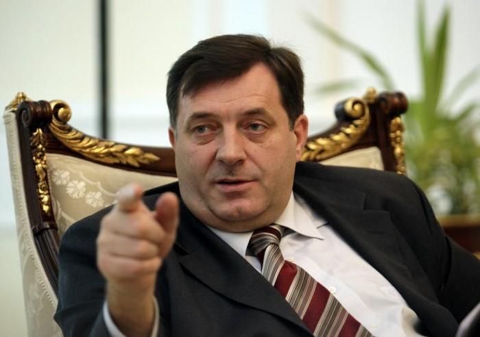 Bosna Hersek'e bağlı Sırbistan Cumhurbaşkanı Güney'de