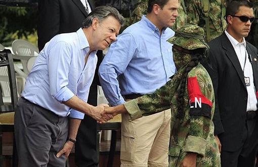 FARC çocuk gerillaları bırakıyor