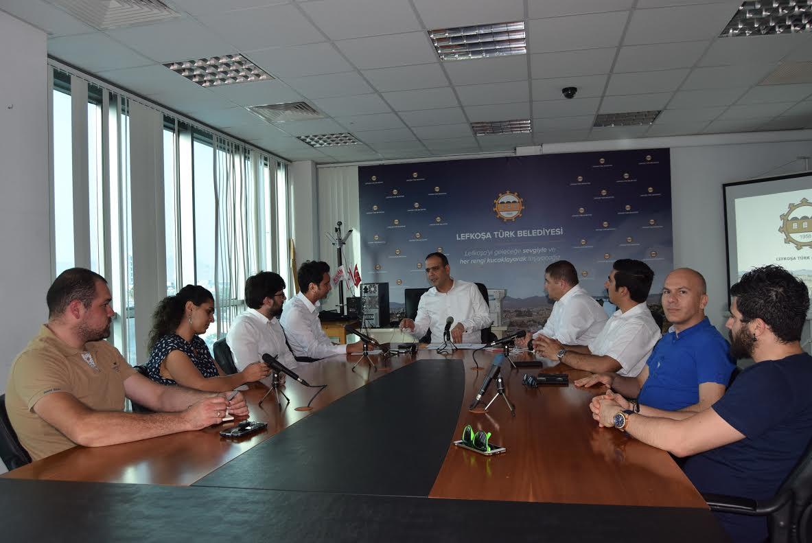 LTB Başkanı Harmancı, GİAD heyetiyle görüştü