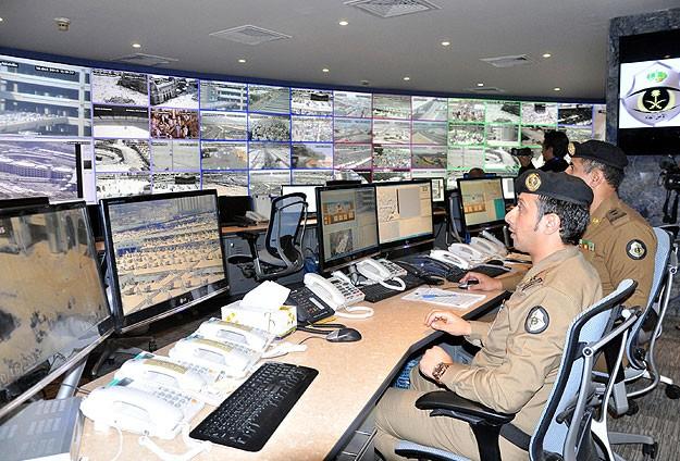 Hacıların güvenliğinde yüksek teknoloji