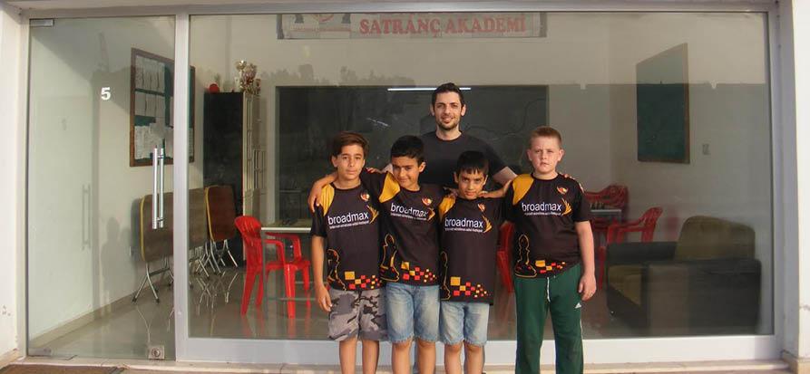 Dumlupınar Satranç Akademi Takımı Antalya'da