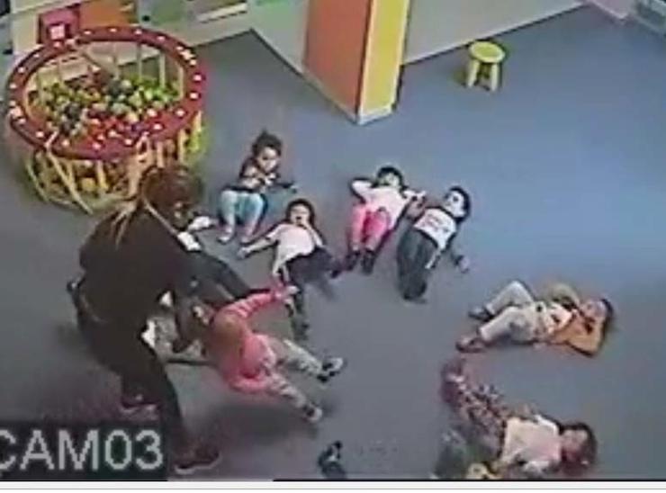 Çocuklara şiddet uygulanan kreş kapatıldı, üç görevli soruşturuluyor