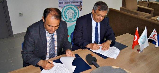 Girne Üniversitesi ve Bingöl Üniversitesi arasında protokol imzalandı...