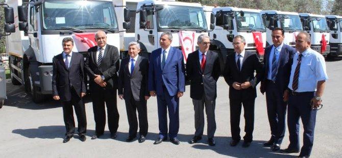 16 iş aracı İçişleri Bakanlığı'na teslim edildi…