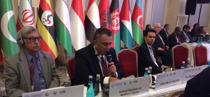 Çavuşoğlu İİT Konferansı'nda konuştu!
