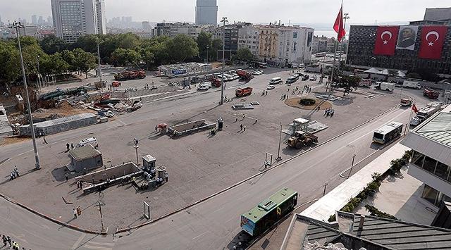 Taksim Meydanı ve Gezi Parkı'na giriş yasak